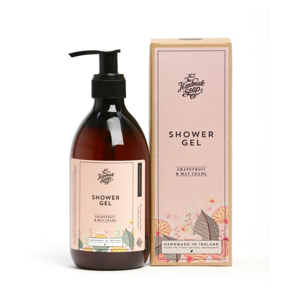 Irish Handmade Soap Company Grapefruit & May Chang Shower Gel