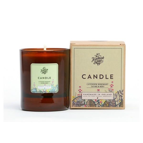 Irish Soap Company Lavender, Rosemary & Mint Candle