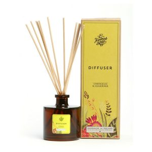 Irish Handmade Soap Company Lemongrass & Cedarwood Diffuser