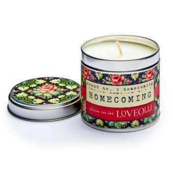 Loveolli Homecoming Candle In A Tin