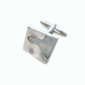 Tipperary Crystal Silver Cufflinks