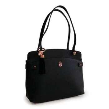 Tipperary Crystal Black Siena Shoulder Bag