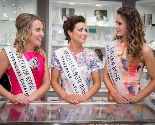Tipperary Crystal Rose of Tralee 2017 Cavan, Leitrim, Fermanagh Roses