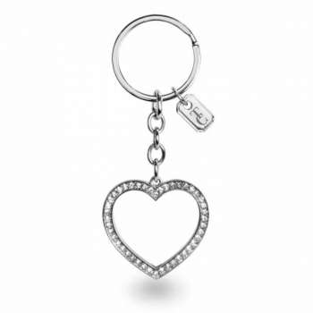 Tipperary Crystal Open Heart Sparkle Keychain