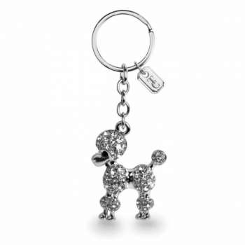 Tipperary Crystal Poodle Sparkle Keychain