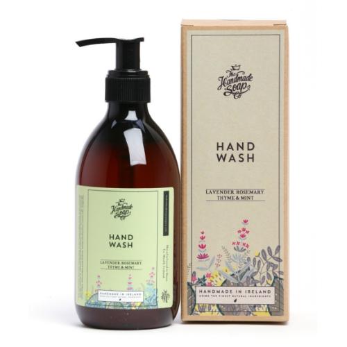 The Irish Soap Company Lavender Rosemary & Mint Hand Wash