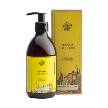 Irish Handmade Soap Company Lemongrass & Cedarwood Hand Lotion