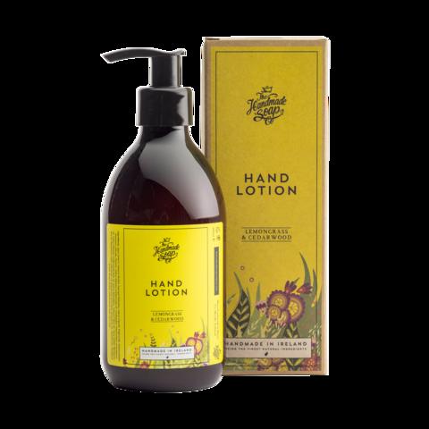 Irish Handmade Soap Company Lemongrass & Cedarwood Hand Lotion