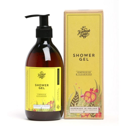 The Irish Soap Company Lemongrass & Cederwood Shower Gel