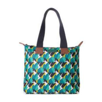 Story Horse Zipped Tote Bag Breezy Day