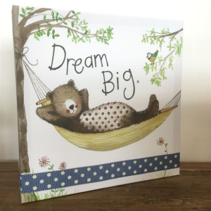 Alex Clarke Dream Big Canvas Art