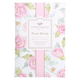 Greenleaf Peony Bloom Scented Sachet
