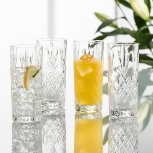 Galway Irish Crystal High Ball Glasses