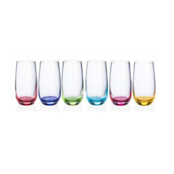 Newgrange Living Rainbow Party Water Glasses