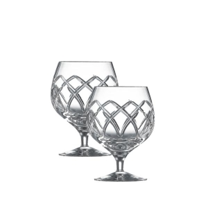 Galway Crystal Mystique Brandy Glasses