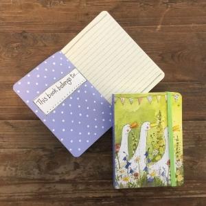 Alex Clark Ducks Small Chunky Notebook