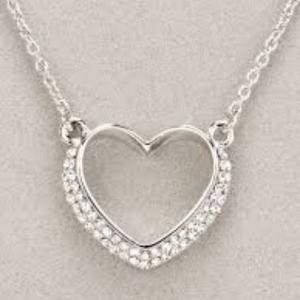 Newgrange Living Silver Heart Pendant