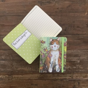 Alex Clark Toffee Cat Small Chunky Notebook