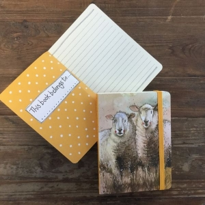 Alex Clarke Companions Sheep Small Chunky Notebook
