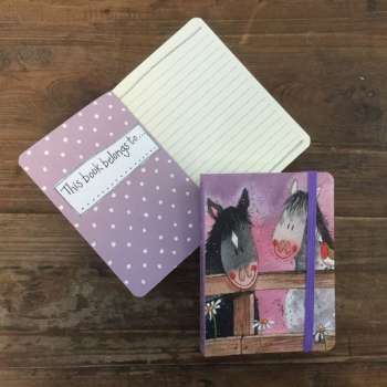 Alex Clark Horse Whispers Small Chunky Notebook
