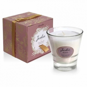 Tipperary Crystal Lavender Jardin Candle