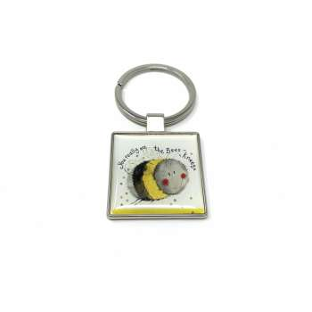 Alex Clark Bees Knees keyring