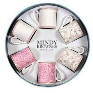 Mindy Brownes Azalee Fine Bone China Cups