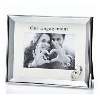 Newgrange Living Silver Engagement Frame
