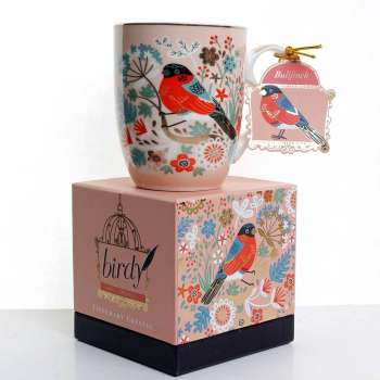 Tipperary Single Birdy Mug - Bullfinch