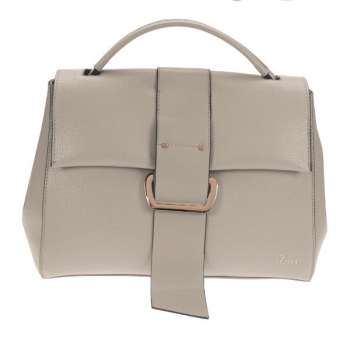 Dice Buckle Feature Flapover Crossbody Bag