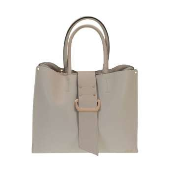 Dice Front Tab Double Handle Tote Bag
