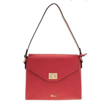 Dice Nyoro Flapover Red Shoulder Bag