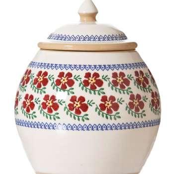 Nicholas Mosse Cookie Jar Old Rose