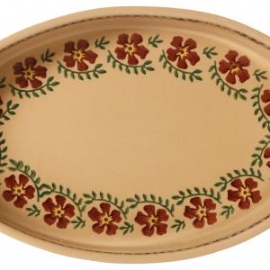 Nicholas Mosse Medium Oval Oven Dish Old Rose