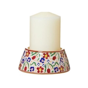 Nicholas Mosse Reverse Candlestick And Candle Wild Flower Meadow