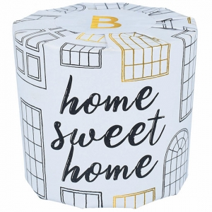 Bomb Home Sweet Home Wrapped Candle