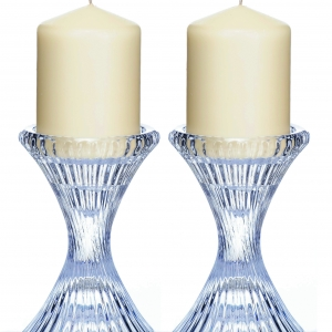 Newgrange Living Ella Pillar Candle Holder Pair
