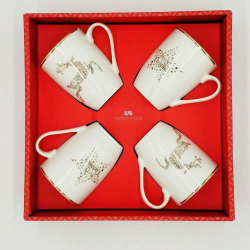Newgrange Living Stella Bone China Christmas Mugs