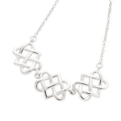 Belleek Designer Jewellery Eternity Necklace