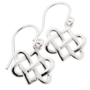 Belleek Designer Jewellery Eternity Earrings