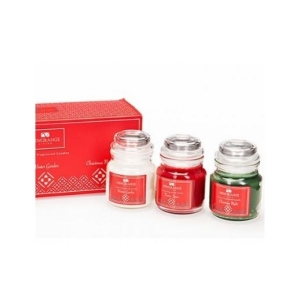 Newgrange Living Set Of Three Fragranced Candles