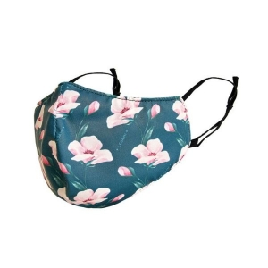 What a Mask! Flower Cloth Face Mask