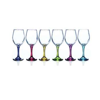 Newgrange Living Rainbow Party Wine Glasses