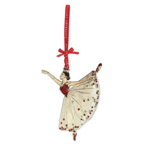 Tipperary Crystal Sparkle Ballerina Decoration