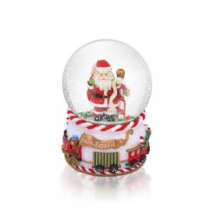 Tipperary Crystal Polar Express Snow Globe