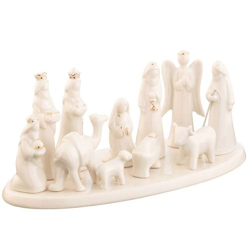 Belleek Living Christmas Nativity Scene