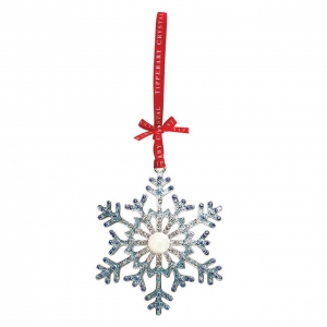 Tipperary Crystal Sparkle Snowflake Decoration