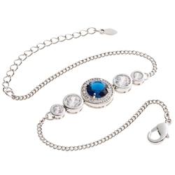 Belleek Designer Jewellery Elements Bracelet Water