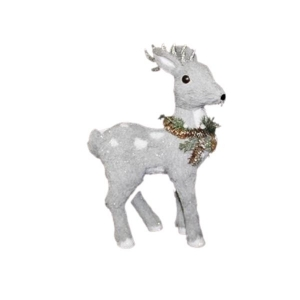 Enchante Arctic Grey Mini Deer