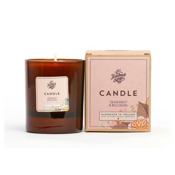Irish Handmade Soap Company Grapefruit & May Chang Candle